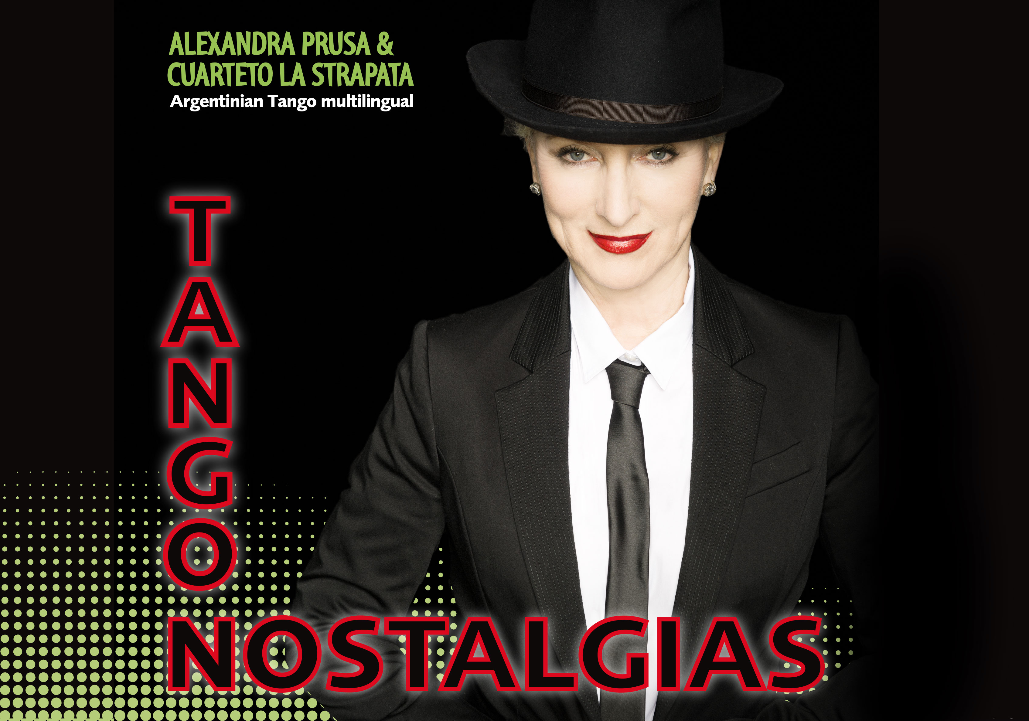 Argentinian Tango Multilingual, Alexandra Prusa & Orchester und Tanzpaar